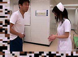 asian nurses handjob